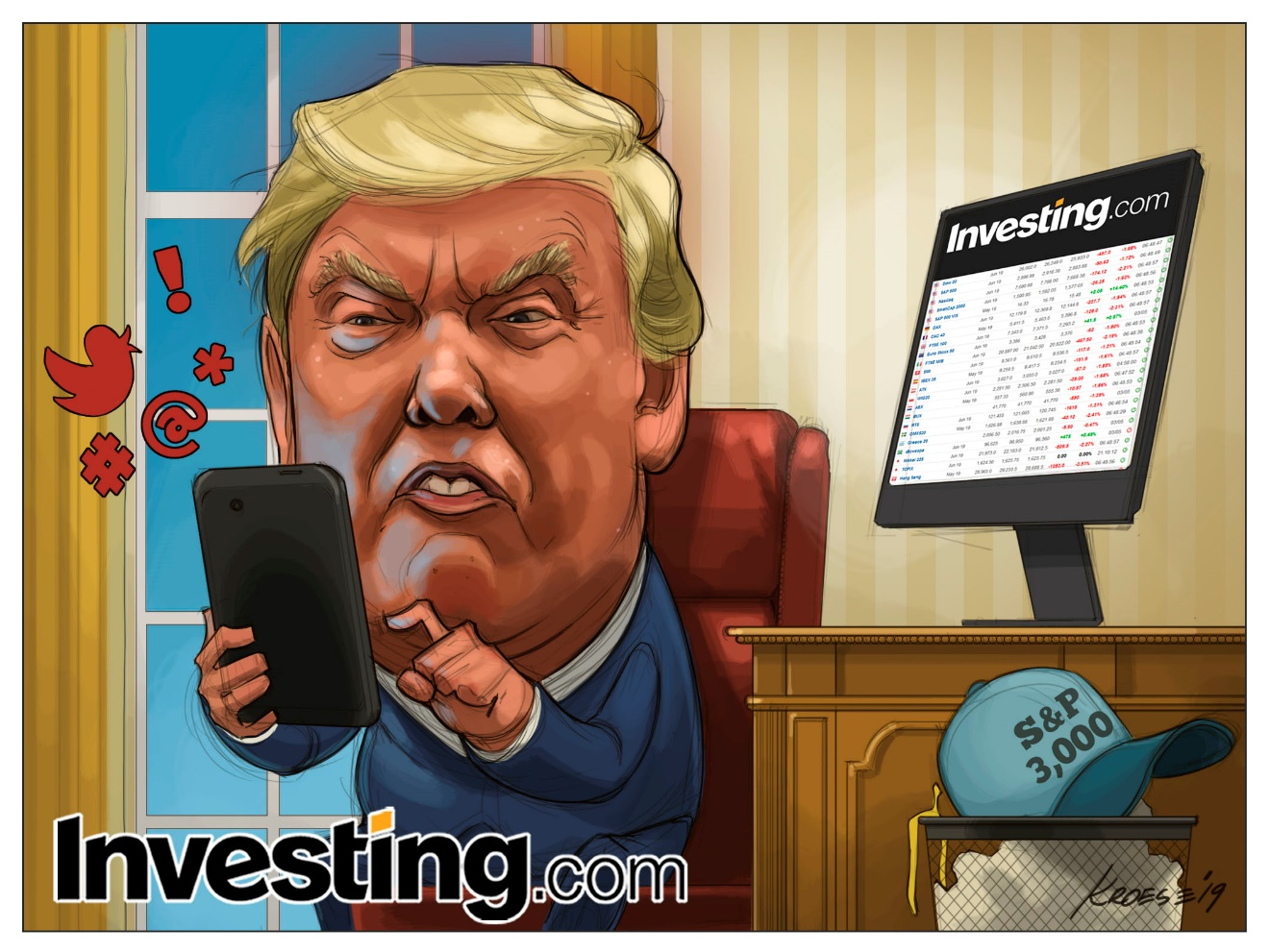 Tweeter-in-Chief Unnerves Markets